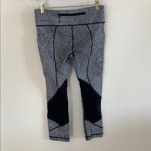 lululemon athletica Pants - Lululemon Size 6 Pace Rival Crop